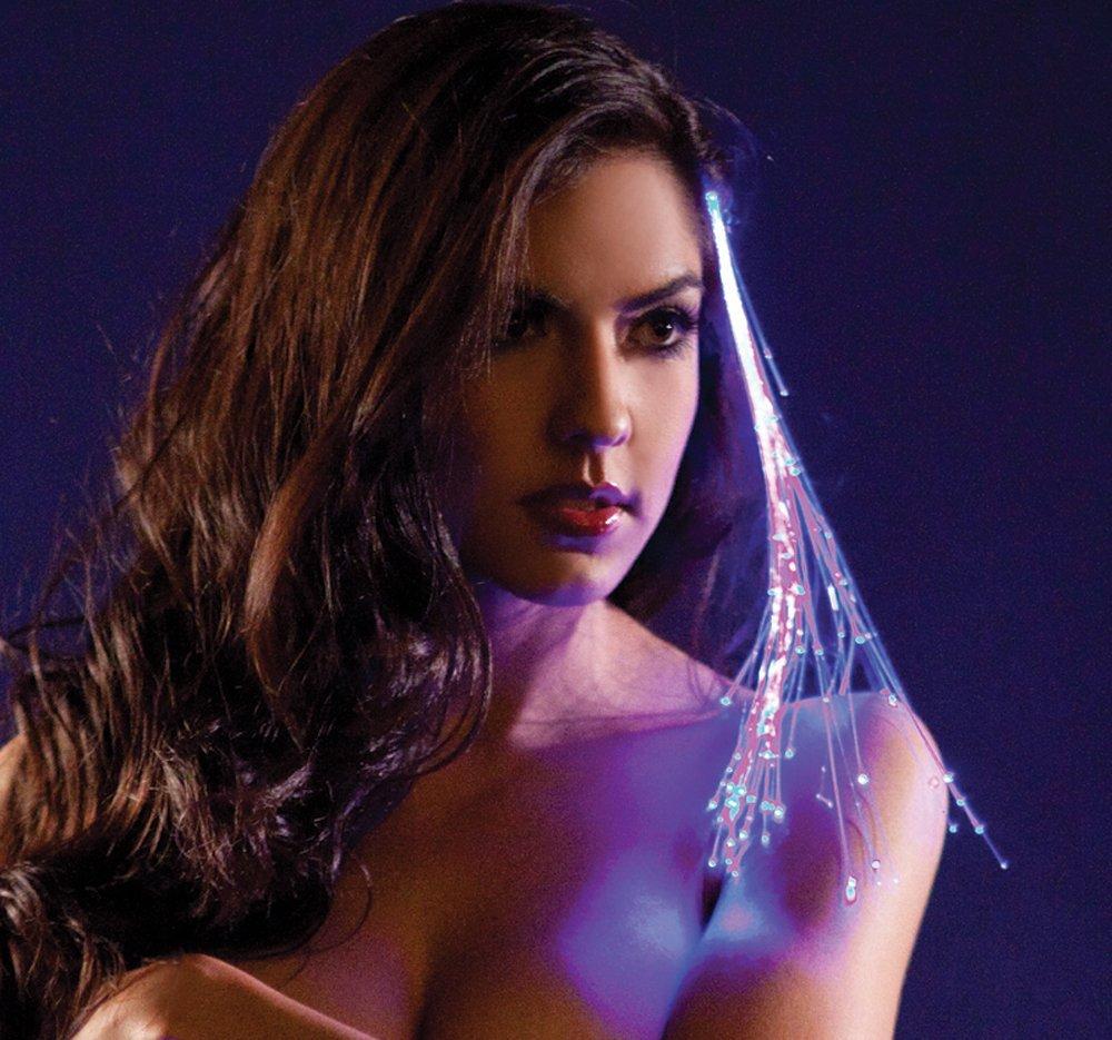 Glowbys LED Fiber Optic Light-Up Hair Barrette